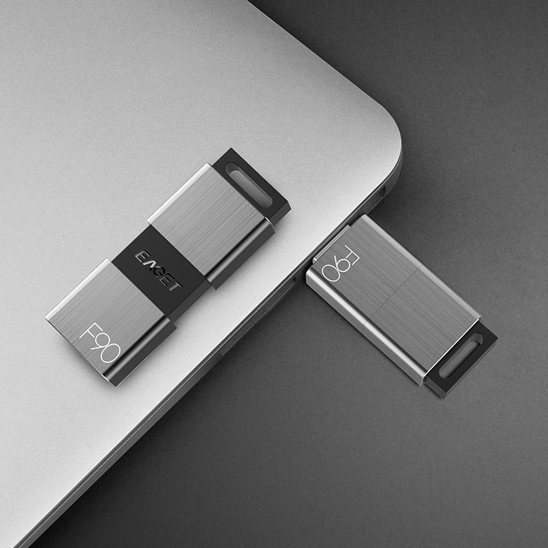 Eaget F90 USB 3.0 128GB Shockproof USB Flash Drive U Di