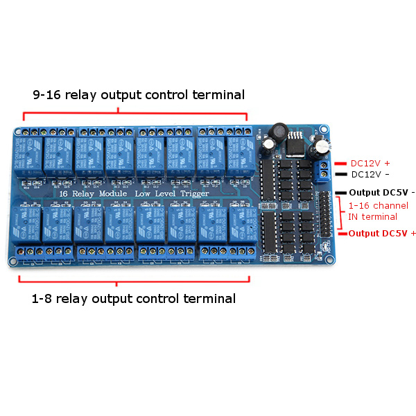 Channel V Relay Wiring Arduino on