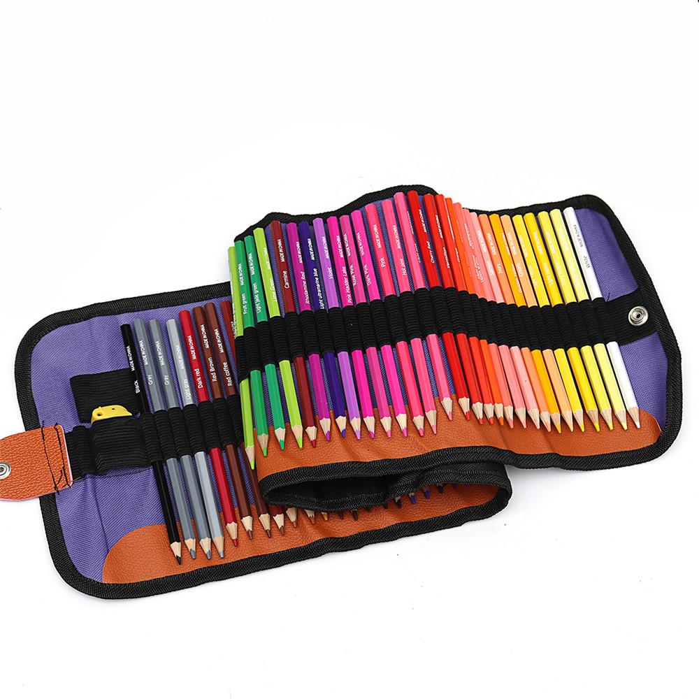 72 Pcs/set Colors Art Drawing Pencil Set Color Pencil Set Art Supplies For Drawing Painting Sketch School Gifts Art Pain
