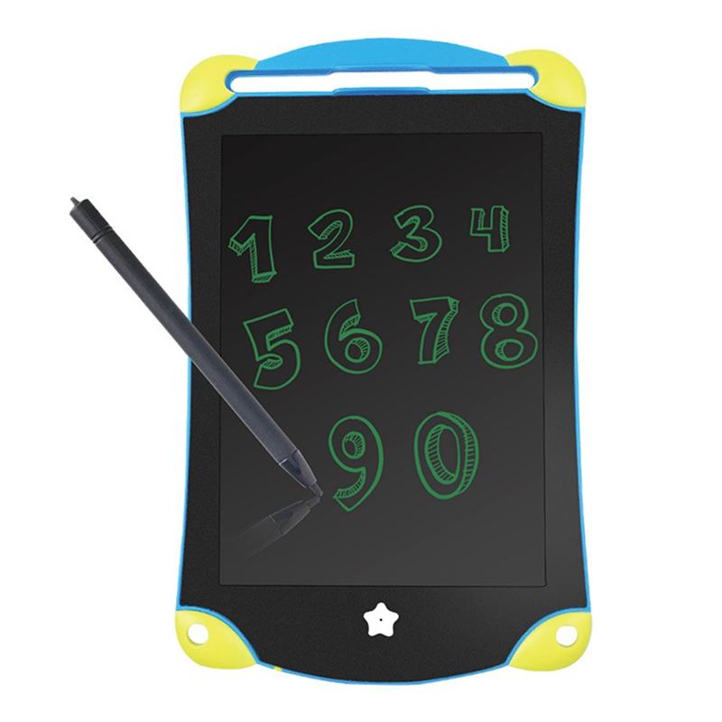 8.5 дюймовый LCD Цифровой Планшет Рисование Блокнот Написание Электронный Почерк Картина Доска Детские Игрушки