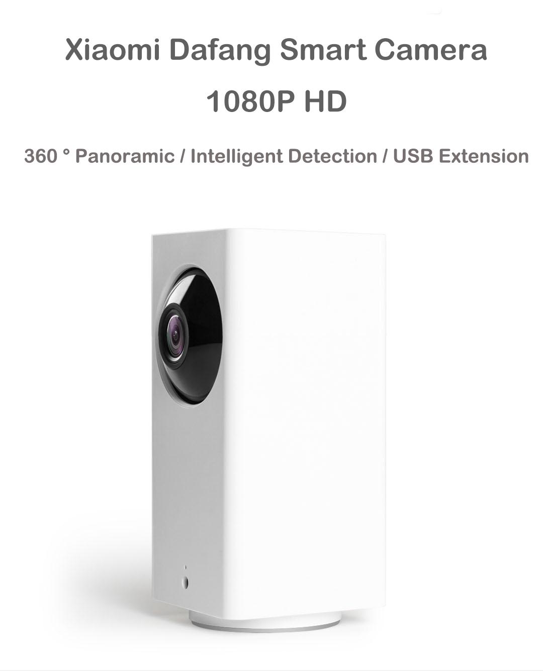 Xiaomi MIjia Home 1080p HD Securité Intélligente WIFI IP Caméra Version de la Nuit IR-cut Détection du Mouvement