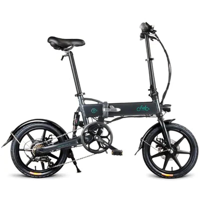 FIIDOD2SShiftingVersion36V7.8Ah 250 Вт 16 дюймов Складной велосипед мопеда 25 км / ч Макс. 50 км Пробег Электрический велосипед