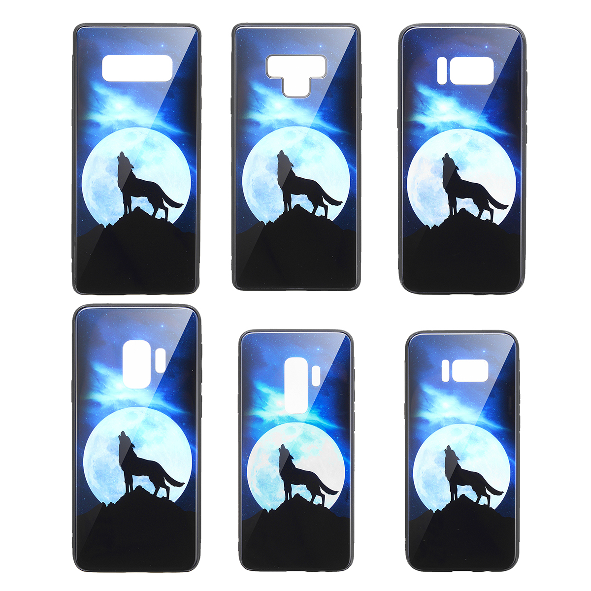 Bakeey Tempered Glass Protective Case For Samsung Galaxy S9/S9 Plus/S8/S8 Plus/Note 9/Note 8 Scratch Resistant Back Cover