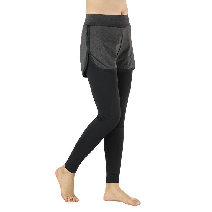 Arsuxeo женщин из двух частей , работающих брюки сжатия колготок упражнения Yoga лосины
