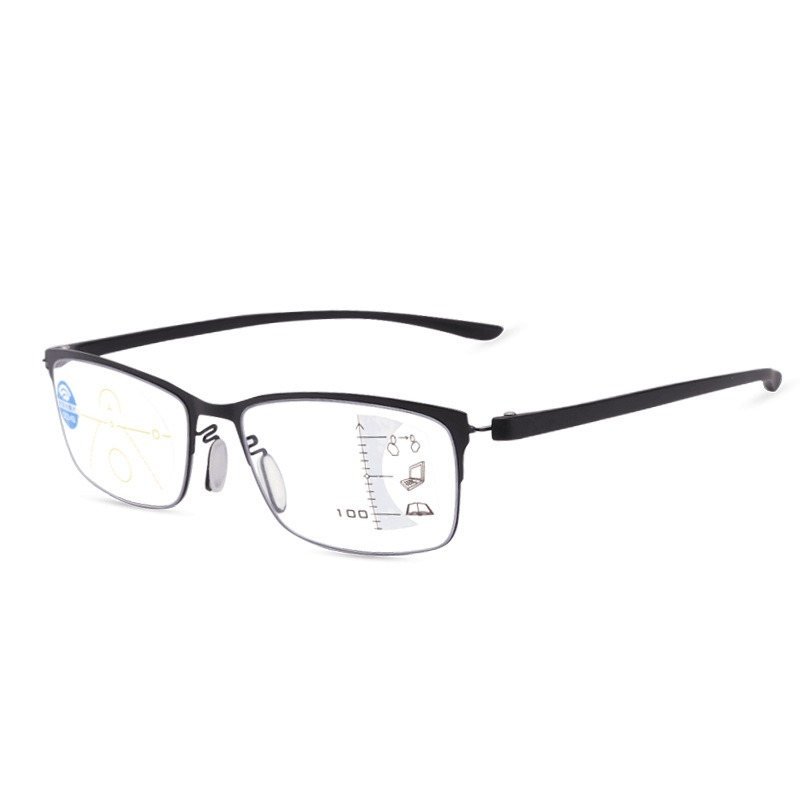 Intelligent Automatic Zoom Anti-blue Reading Glasses