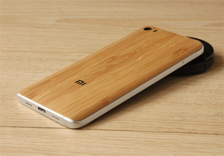 brand new 15a44 e79e2 Bakeey Wood Bamboo Pattern Back Battery Cover Protective Case For Xiaomi Mi5