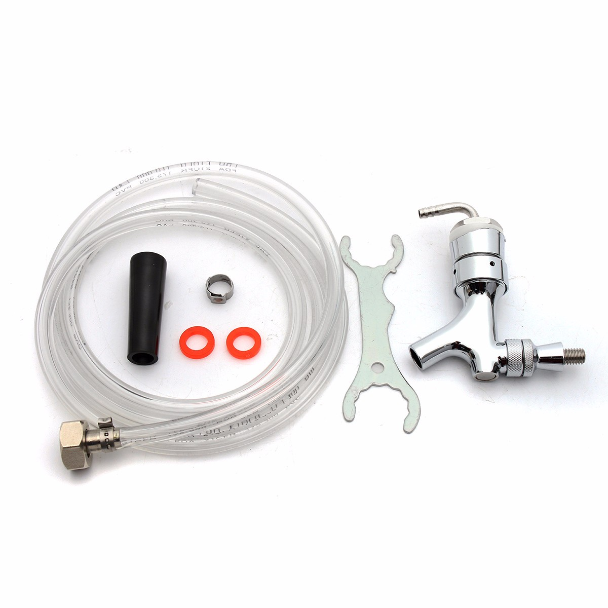 Draft Beer Tower Rebuild Kit with Shank Beer Faucet Hose Wrench