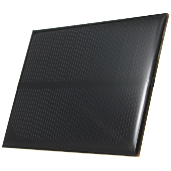 5V 1W 99MM x 69MM 200MA Mini Epoxy Solar Panel Photovoltaic Panel