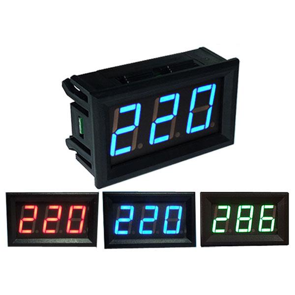 0.56-дюймовый AC70-500V мини-метровый цифровой вольтметр Приборная панель напряжения переменного напряжения LED дисплей