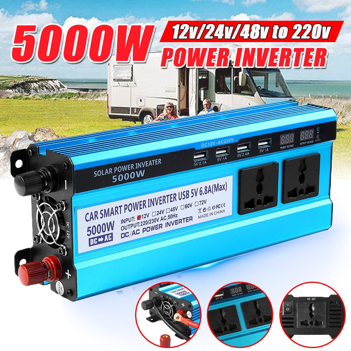 5000w 5000w Power Inverter Dc 12v Ac 220v Circuit Diagram Power 12v To