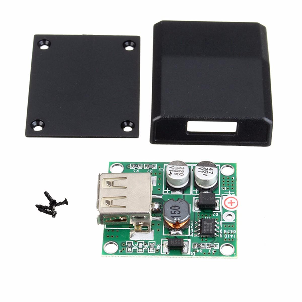 DIY 5V 2A Spannungsregler Anschlussdose Solar Panel Ladegerät Spezielle Satz Für Elektronische Produktion