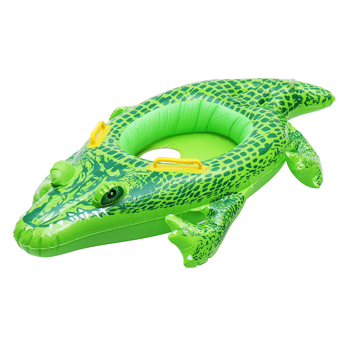 Inflatable Kids Baby Crocodile Swimming Ring Float Boat