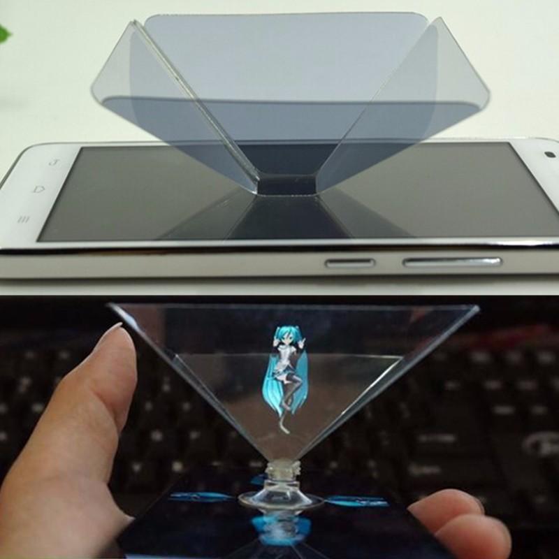 Голографический дисплей стенд 3D-проектор для Iphone 6 / 6с плюс Iphone 6 / 6с смартфон