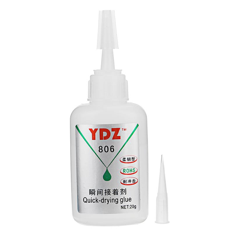YDZ-901 20g Высокопрочный клей Высоковязкий клей для материала ПК / ПВХ