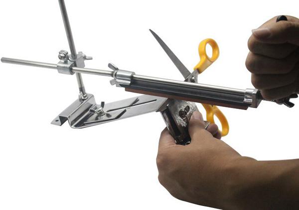 Honana Profession Kitchen Sharpening Tool Scissor Blade Sharpener Tools With 4 Stones Sharpen Stone 7