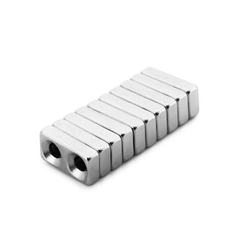 10Pcs20 x 10 x 5mm N38 Magnetic Toys Powerful Creative NdFeB Cube For Kid Adult DIY