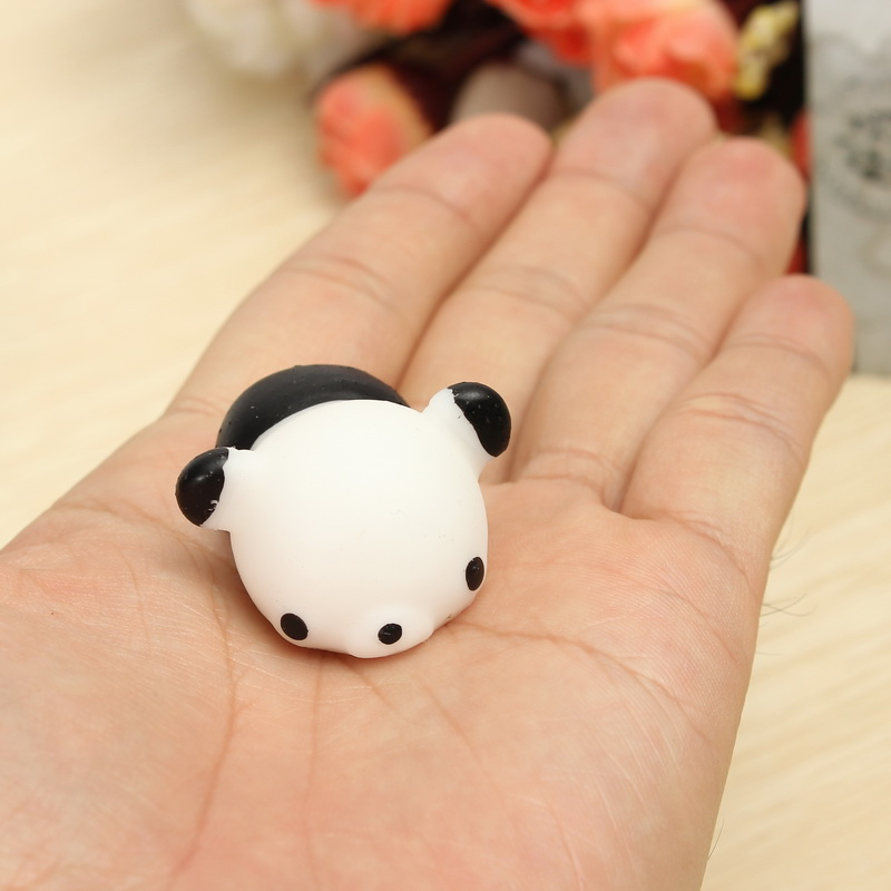 Bear Squishy Squeeze Cute Healing Toy 4*3*2.5cm Kawaii Collection Stress Reliever Gift Decor