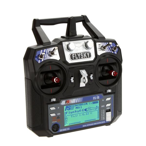 FlySky i6 FS-i6 2.4G 6CH AFHDS RC Transmitter ohne Empfänger