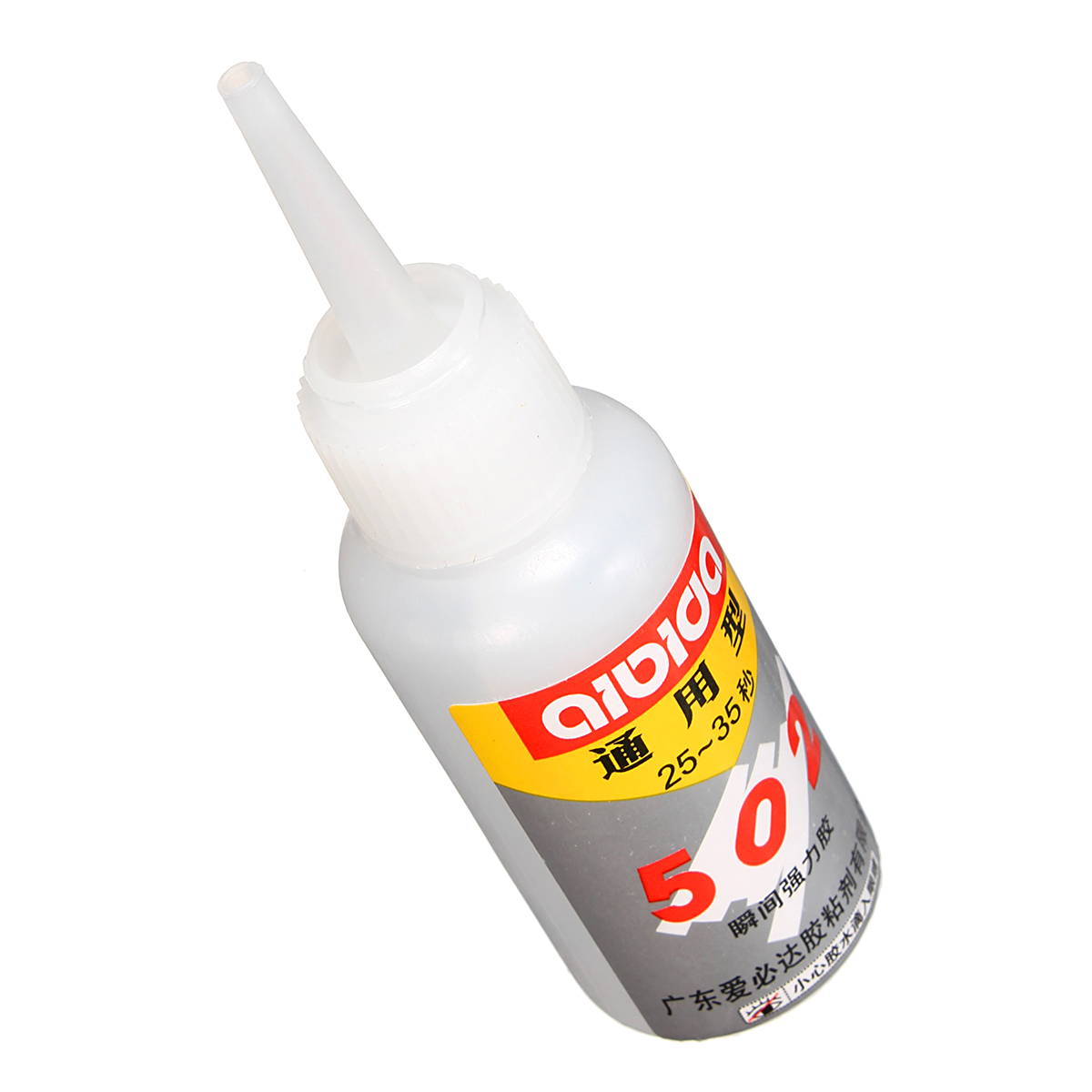 Super Glue 502 Instant Quick Drying Adhesive Fast Strong Bond for Leather  Rubber Metal 15g