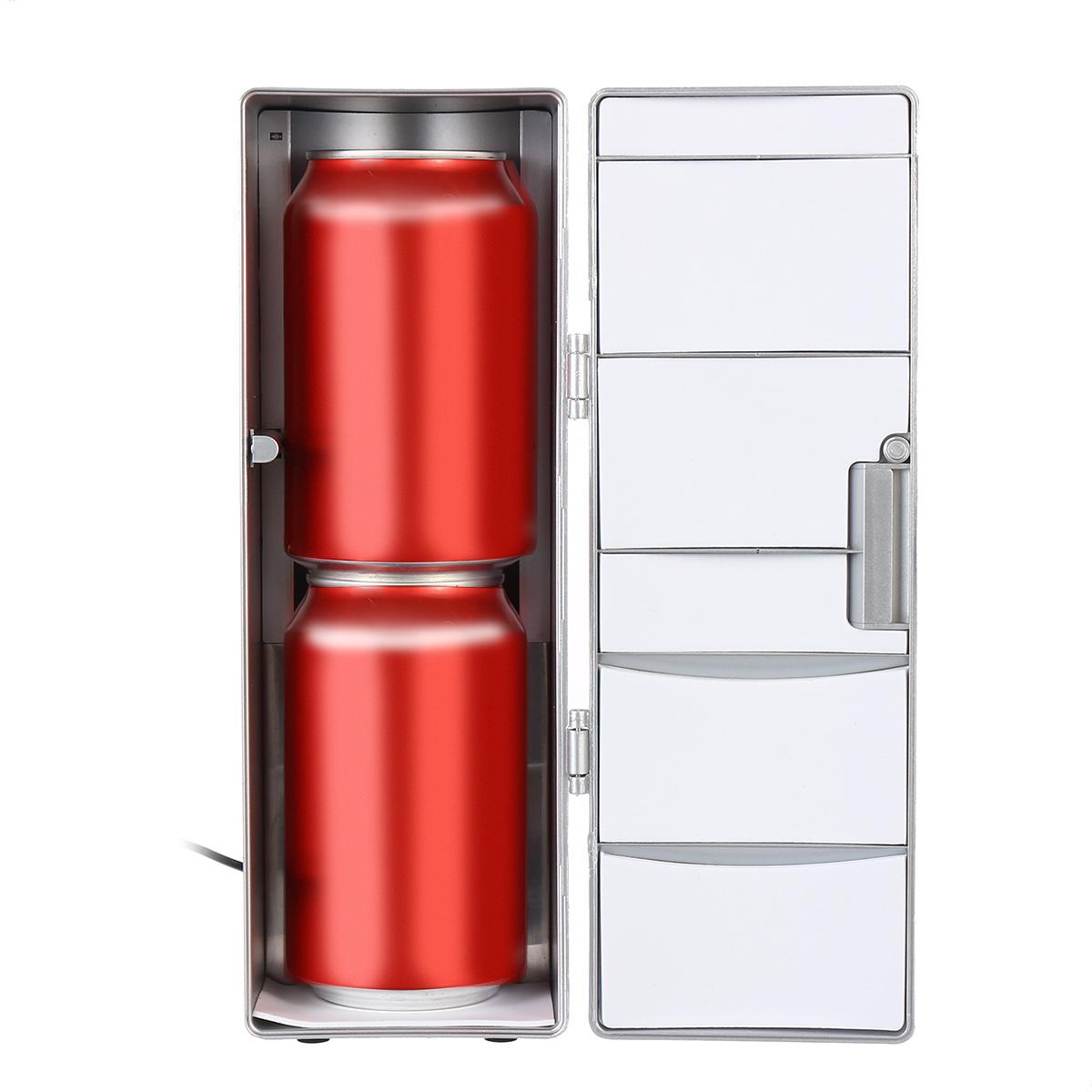 USB Малый Авто Холодильник Офисный Компьютер Лед Холодильное Отопление DC 5V