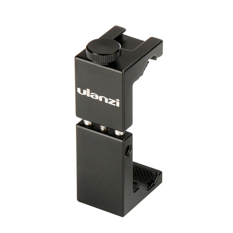 Ulanzi ST-02S Алюминиевый поворот вертикального горизонтального держателя телефона Зажим Клип с холодным креплением для обуви