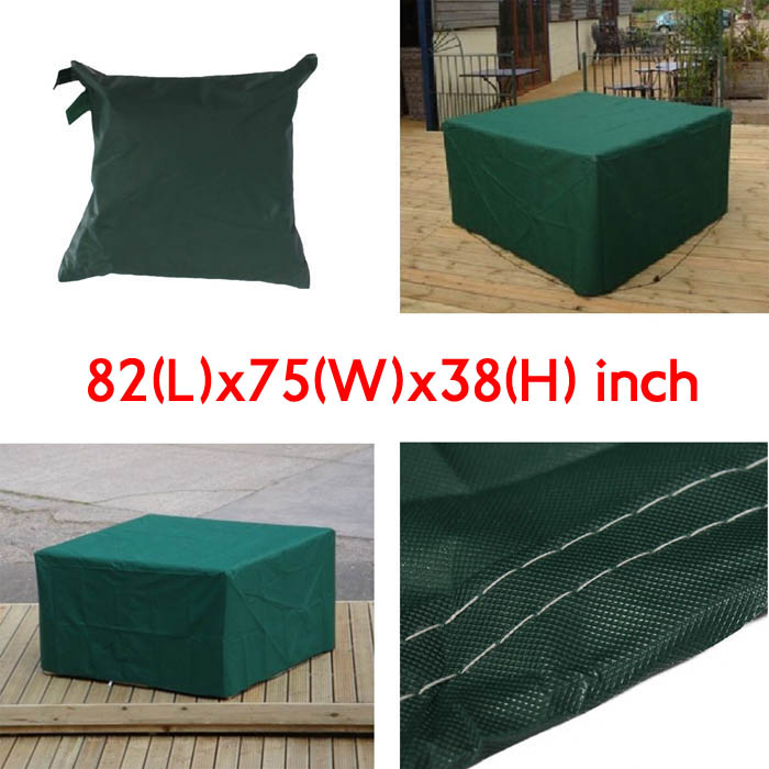 210x193x97cm Garden Outdoor Furniture Waterproof Breathable Dust Cover Table Shelter