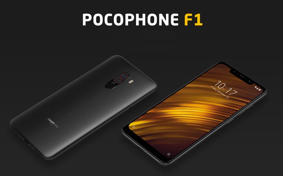 Xiaomi Pocophone F1 Global Version 6 18 inch 8GB 256GB Snapdragon 845 Octa  core 4G Smartphone