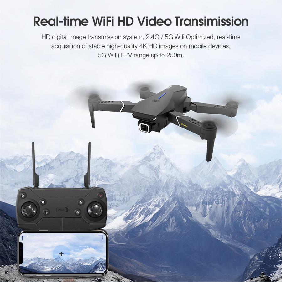 Eachine E520S GPS drone med 4K kamera
