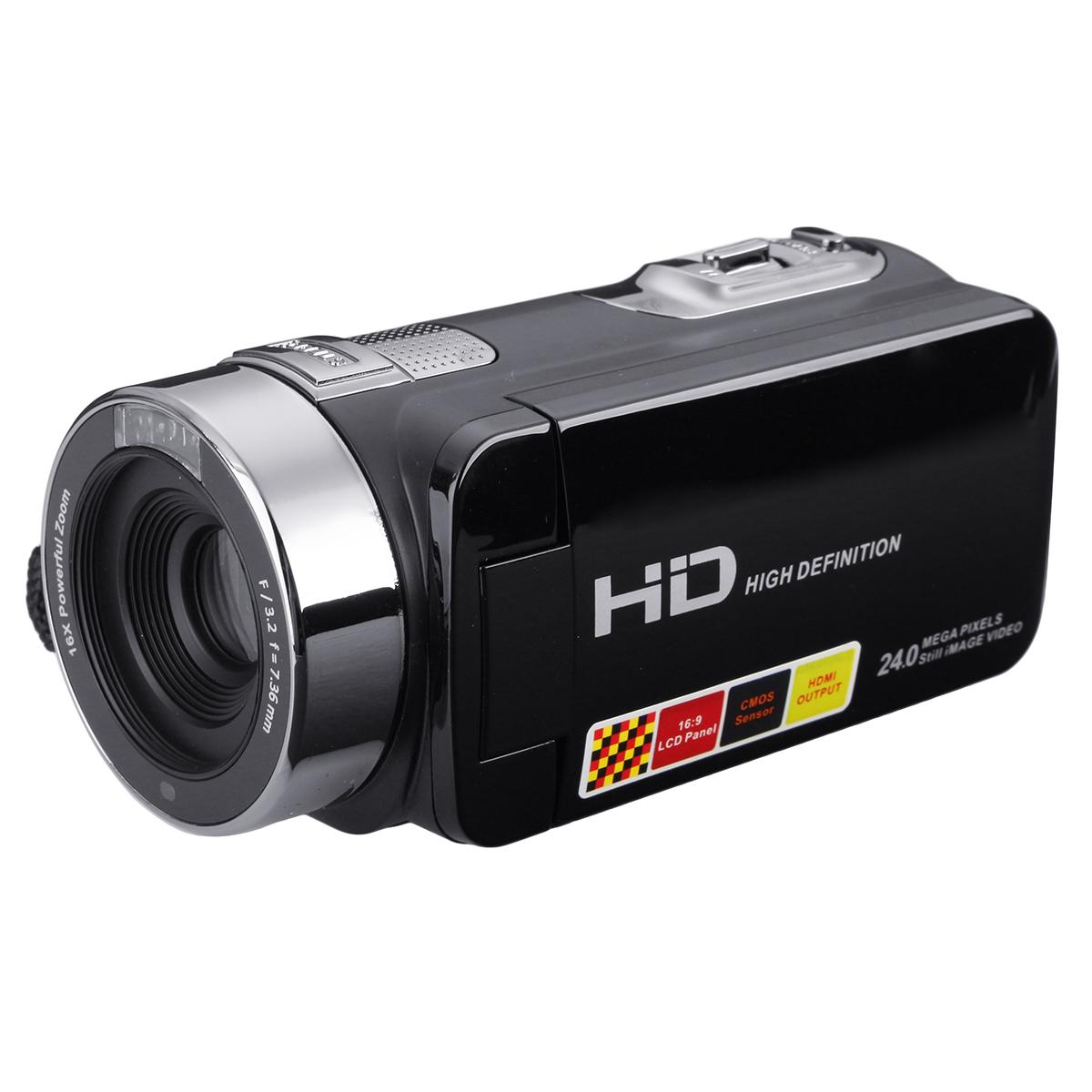 3.0 inch 1080P FHD Видеокамера Ночная съемка 24MP Цифровая камера С Дистанционное Управление