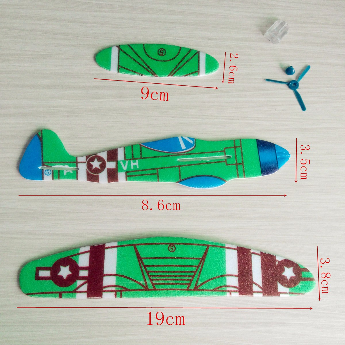 10 Pieces Flying Toy Planes - Perfect For Birthday Parties 6