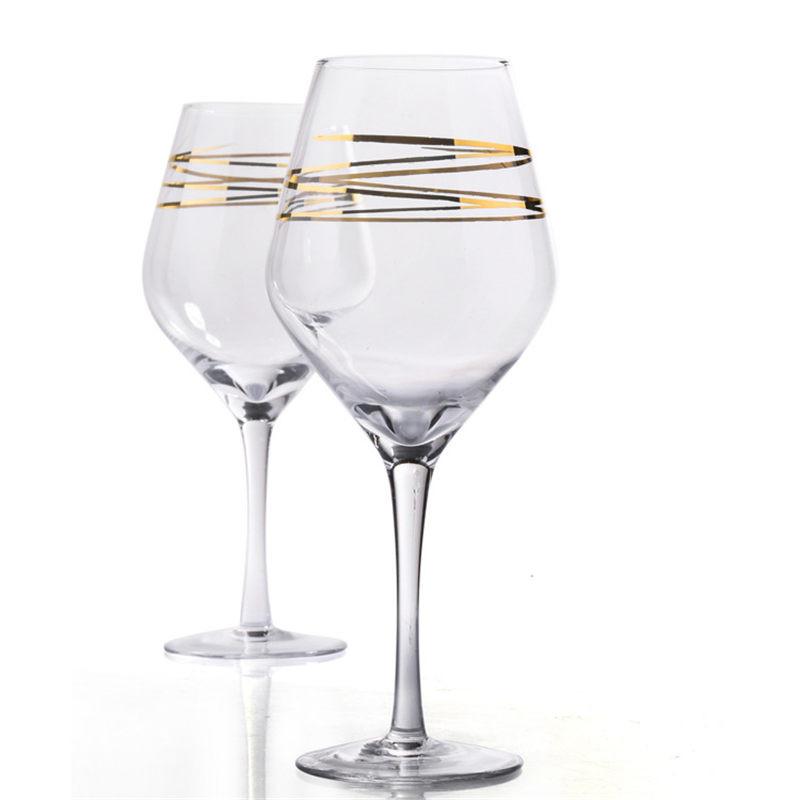 GoldChampagnerGlasWeinglasBarWerkzeuge Rotwein Glas Wein Becher Weinglas Tasse