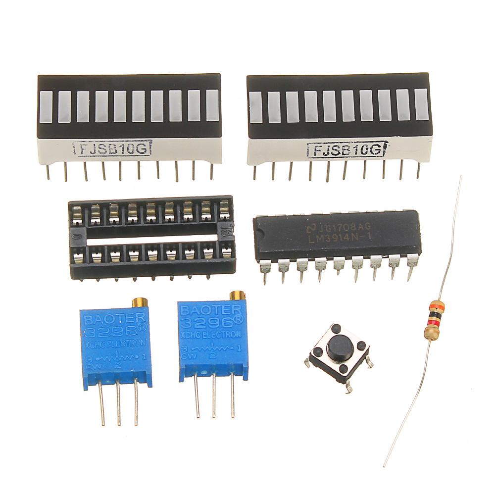 DIY LED Power Indicator Kit Power Indicator Power Tester For 2 4-20V Battery