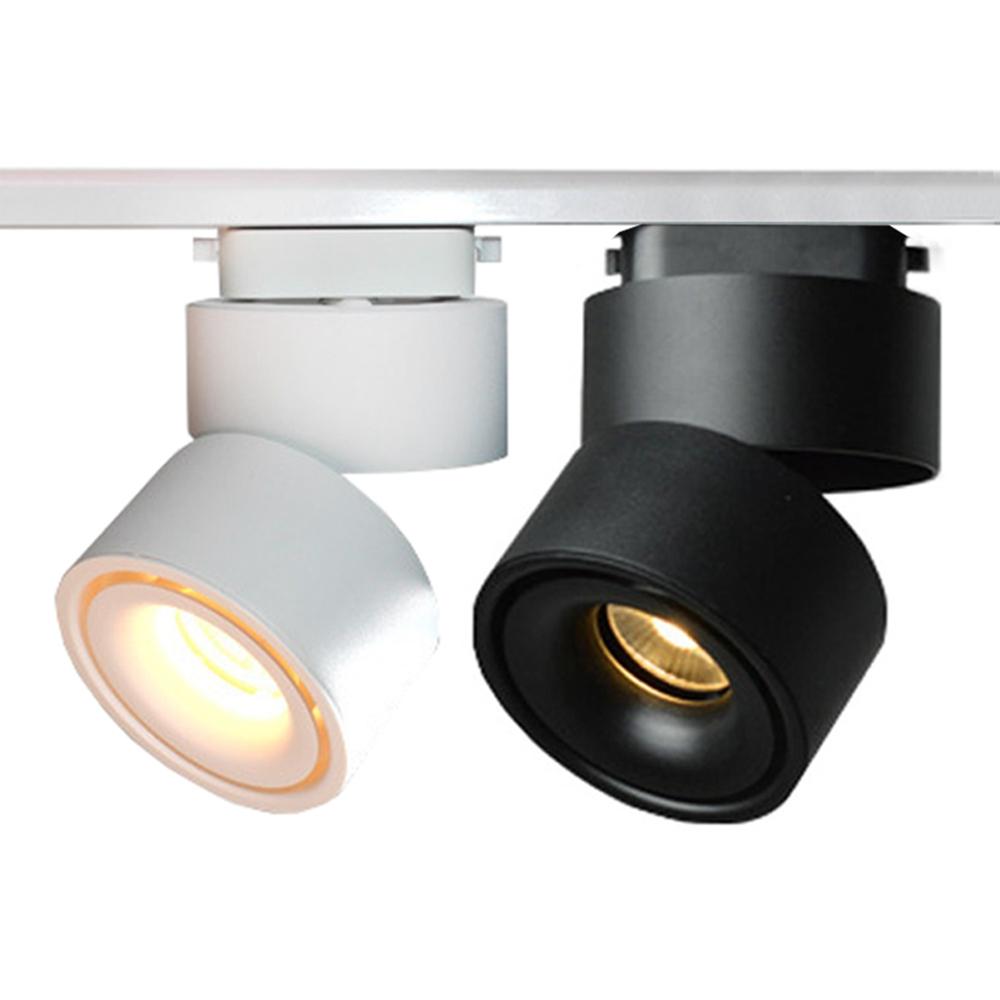 12W COB LED Рельсовый тракт для Spotlight для магазина одежды Show Window Show AC85-265V
