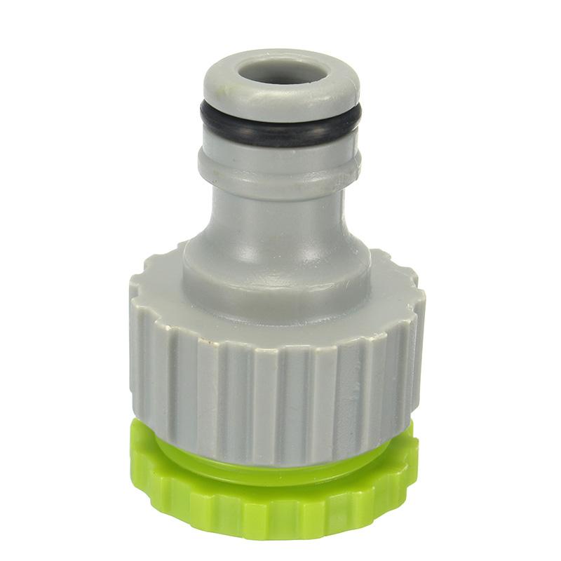 1/2 и 3/4 дюймов ABS Сад Адаптер женского стирального аппарата Faucet Шланг Quick Коннектор