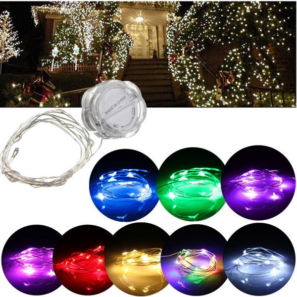 3m LED строка фея водонепроницаемый лепестки светлая партия Рождество лампа дерево свадьбы декор