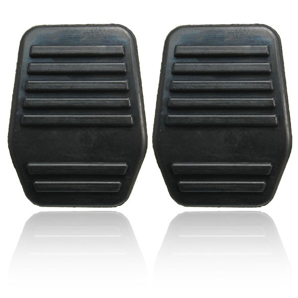 A Pair of Pedal Pads Rubber Cover For Ford Transi
