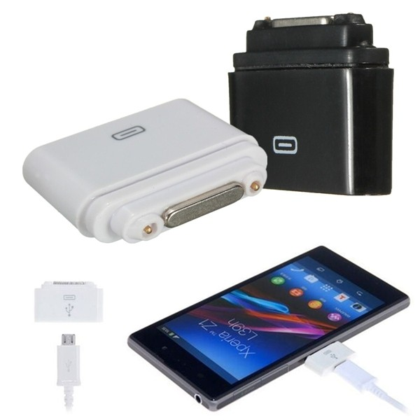 Micro USB to Magnetic Charging Adapter for Sony Xperia Z1 Z2 Z3