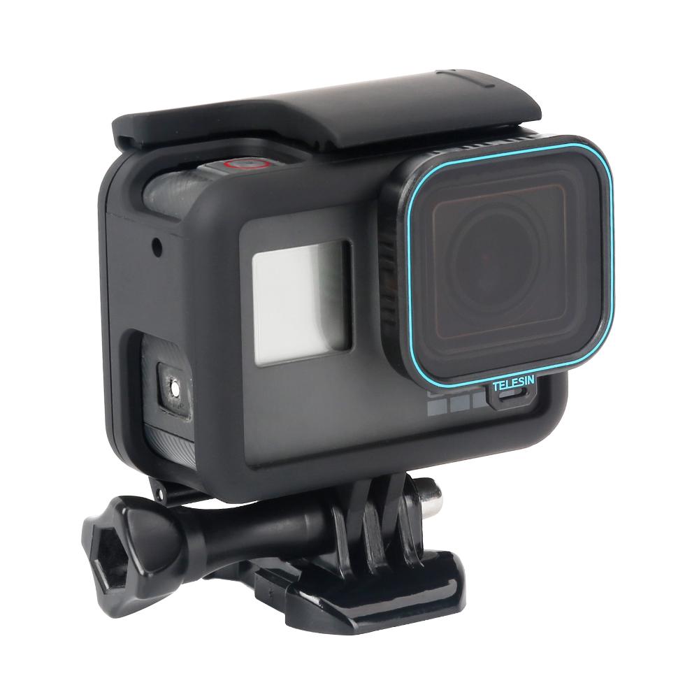 TELESIN 1.2mm CPL Поляризатор Объектив Фильтр для гопро 7 6 5 Герой Спорт Действие камера