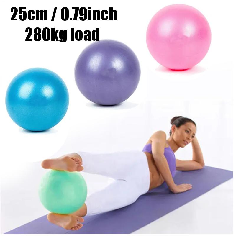 25CM Exercise Ball Gym home Mini Fitness Balance Yoga Ball Slimming Training Ball For Home Workout Pilates