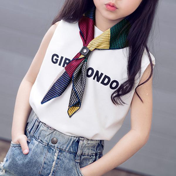 Мода девочек малых квадратных шарф печатных Фулар платок банданы шарфы Vintage стиль шарф