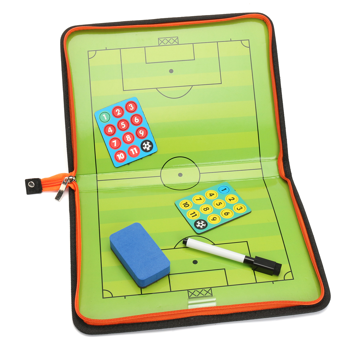 Magnetic Training Football Pro Soccer Tactic Board Fold