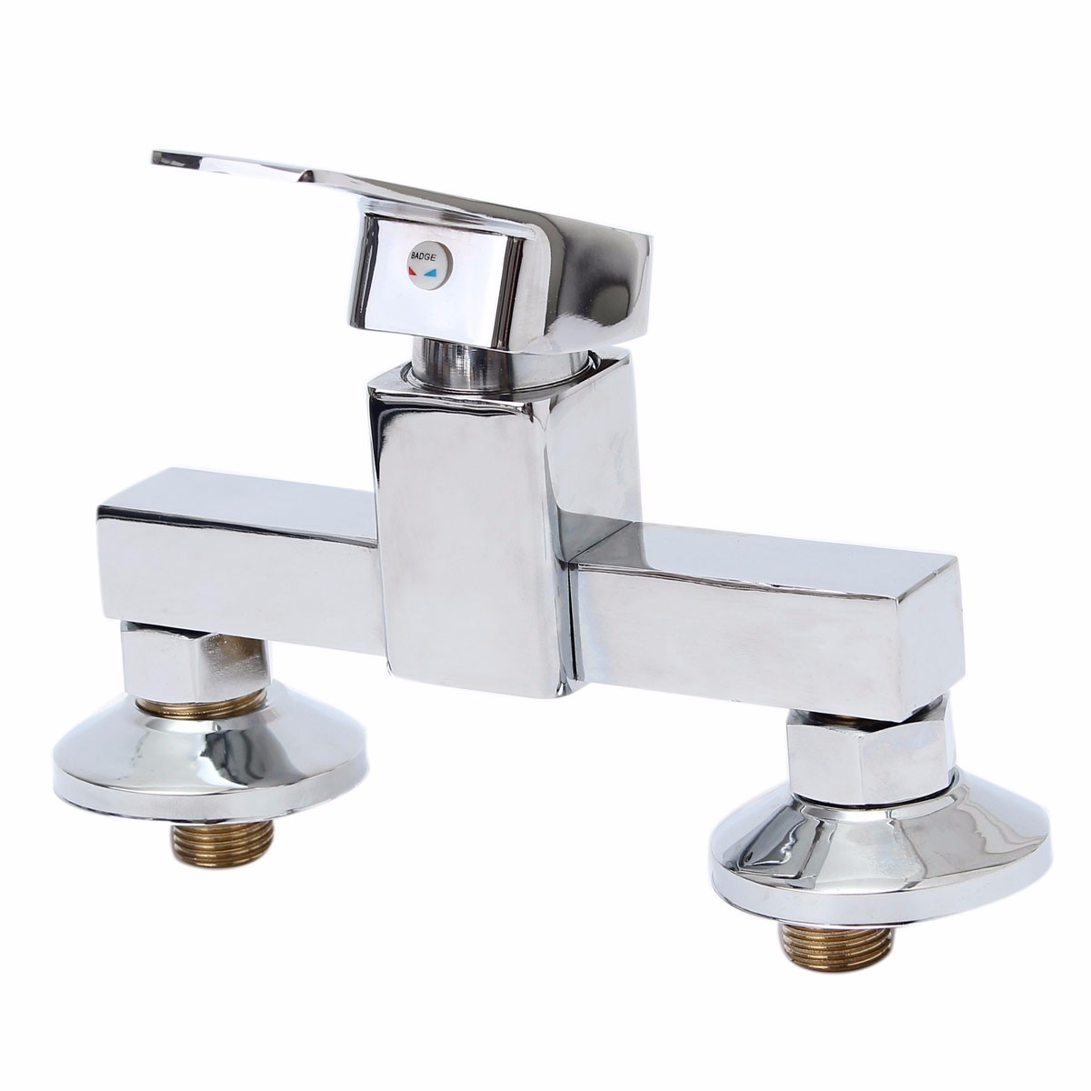 Ванная комната Душевой клапан Горячий холодный смеситель Смеситель для умывальника Медь Настенный фото