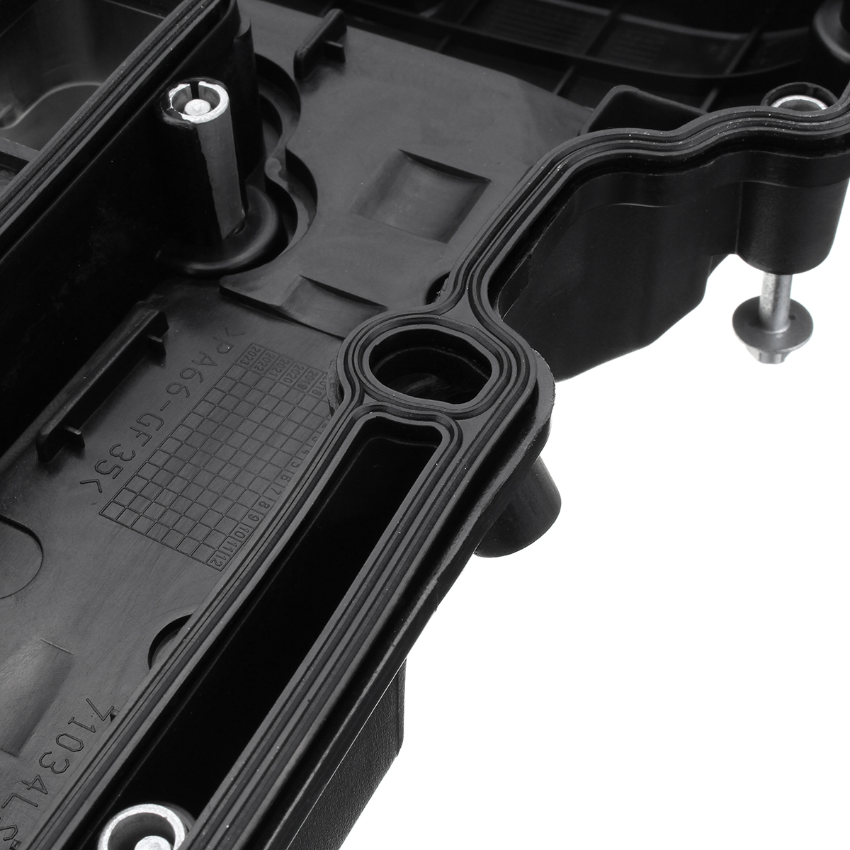 Car Black Camshaft Engine Valve Cover Bolts & Seal For Chevy Cruze Sonic  Buick 1 4L