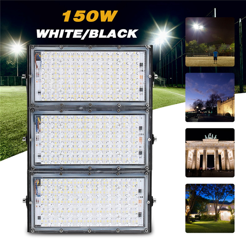 150w 150 Led Flood Light Ip65 Waterproof Outdoor Super Bright Security Ac180 265v