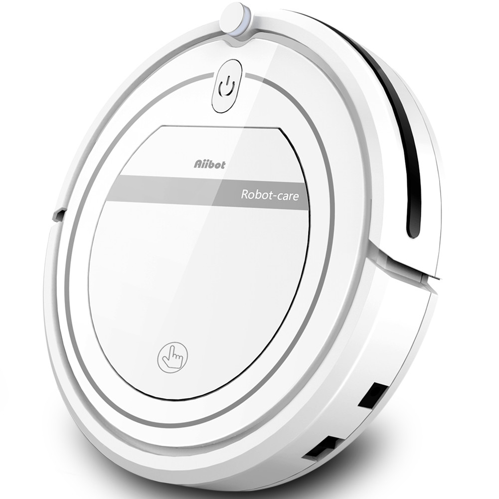 Aiibot T288 Ultra-thin Robot Vacuum Cleaner 800Pa Suction Anti-drop Sensor Remote Control and Set Cleaning Mode