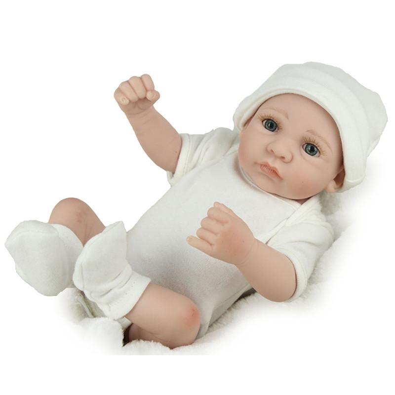 КУКЛА Real Life Baby Dolls Полный винил Силиконовый Baby Doll Подарки на день рождения
