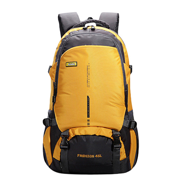45L крупных мужчин потенциала женщин Nylon водонепроницаемый случайные рюкзак