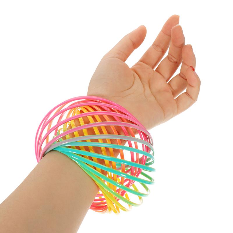 PVC Rainbow Flow Rings Волшебный Браслет Flowtoys Упражнение Artifact Creative Toys Gift