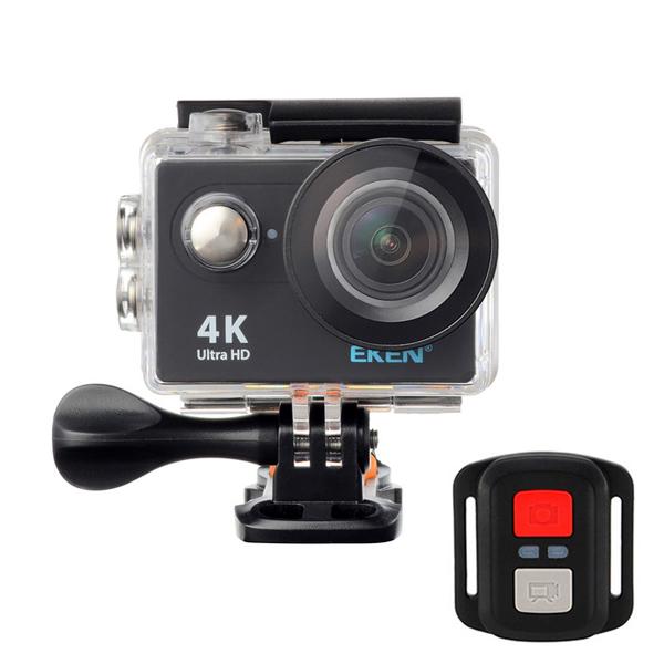 EKEN H9R Sport Action Waterproof Camera 4K Ultra HD 2.4G Remote WiFi sans fonction de diffusion en direct