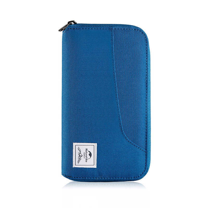 Naturehike NH18X020-B RFID Travel Wallet Waterproof Anti-theft Passport Credit Card Holder Bag